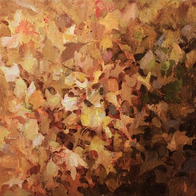"""Autumn Leaves"" 22x32 in. oil on canvas. sold."