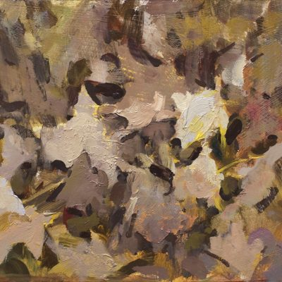 """""""Leaves"""" 10x15.5 in. oil on board. Available"""