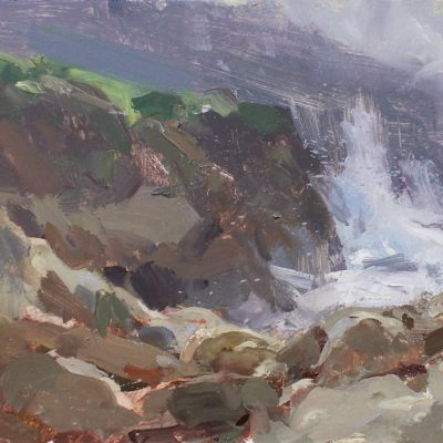 """Point Lobos"" 7.5x11 in. oil on board. available"