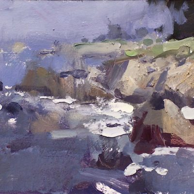 """Pacific Grove"" 7.25x11 in. oil on board. available"
