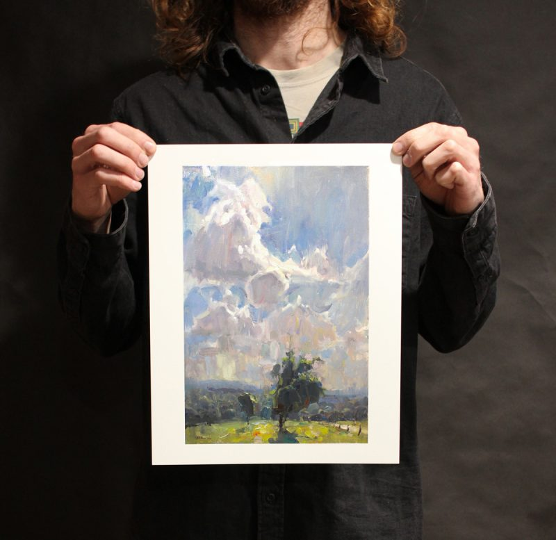 Clouds over the Countryside Limited edition print 1/3